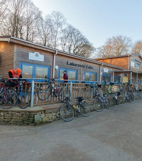 Cafe with Bikes Image